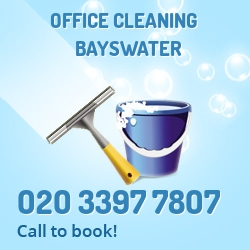 Bayswater office cleaners W2